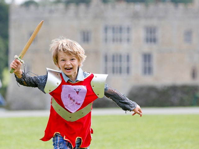 Knights' Challenge for Children at Half Term