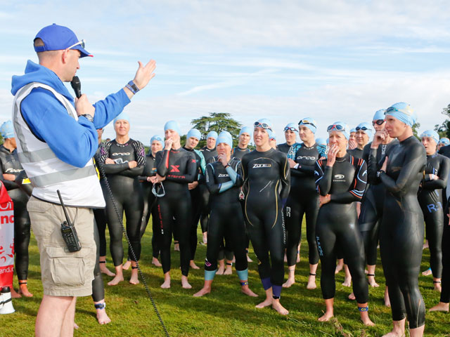 Leeds Castle Triathlon Training Day