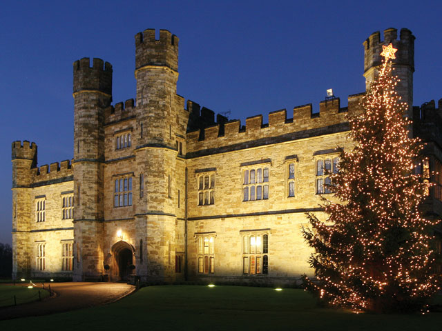 Christmas at Leeds Castle