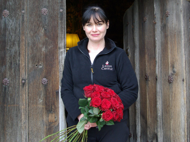 Flower Arranging Demonstration with the Castle Florist