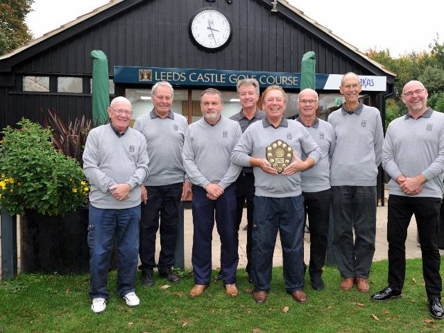 Leeds Castle Winning Team