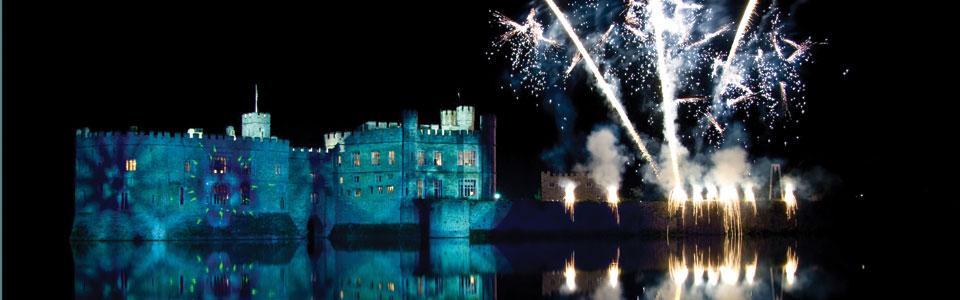 Fireworks at Leeds Castle