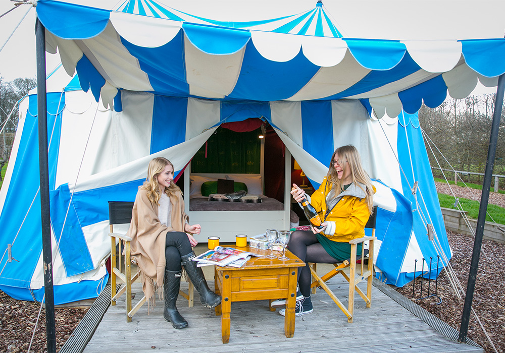 Stay at Electric Castle Glamping during
