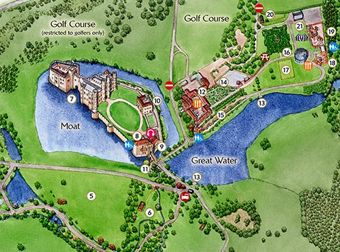 Attractions At Leeds Castle