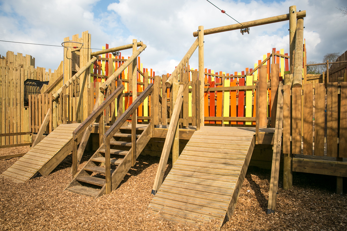 Leeds Castle Playgrounds